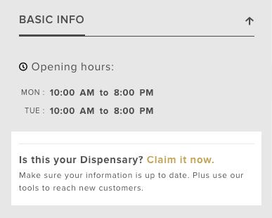 meryjane claim dispensary