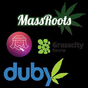 marijuana social networks
