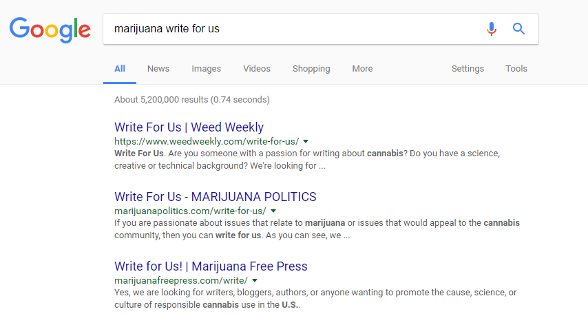 marijuana write for us seo