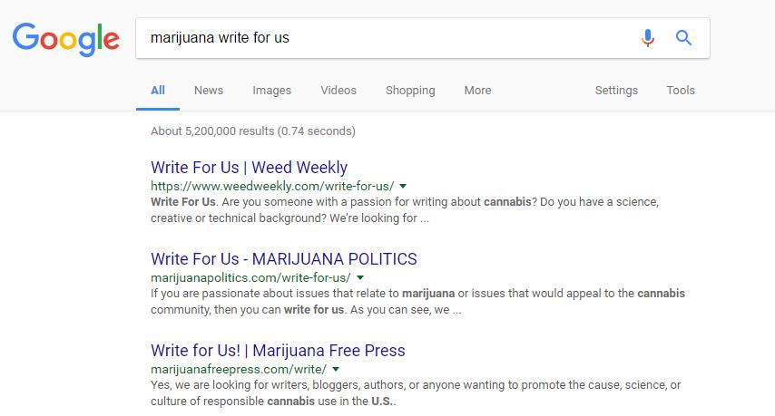 marijuana write for us seo