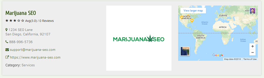 marijuana seo citation