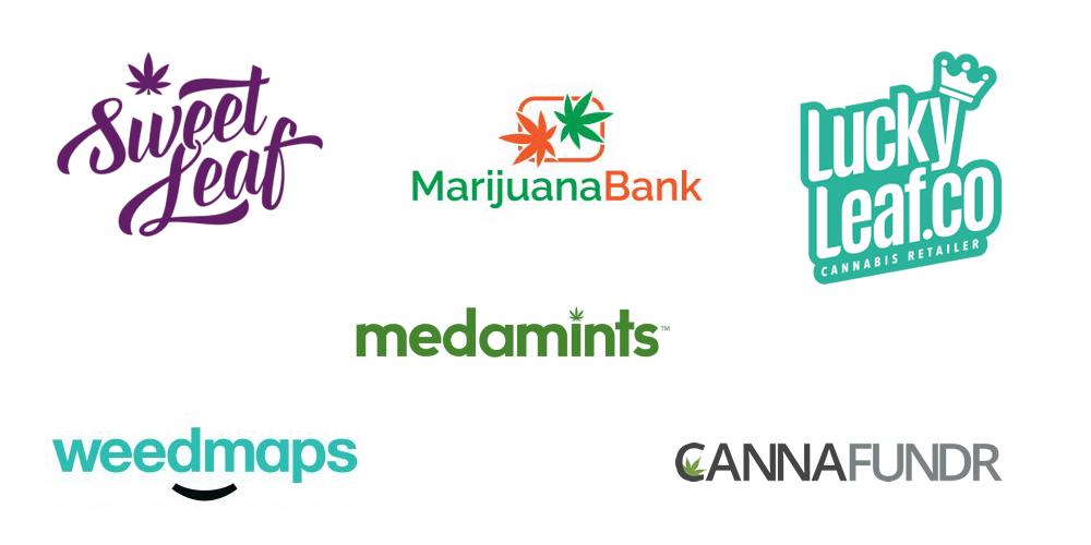 top marijuana logos