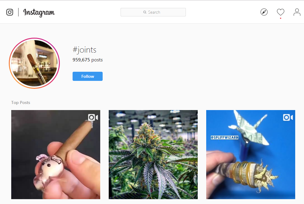 joints on intsagram