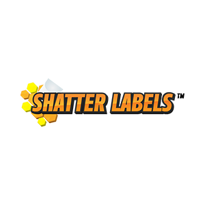shatter labels logo marijuana packaging