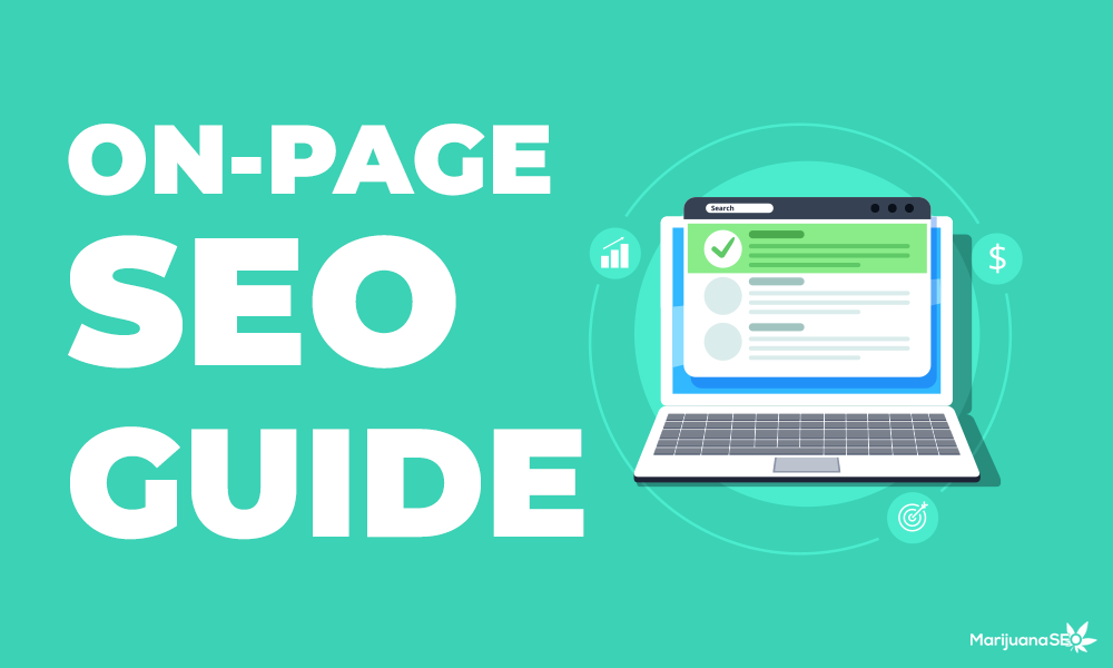 marijuana seo on page seo guide
