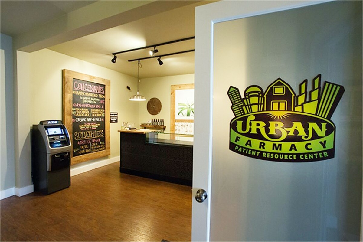 Urban Farmacy front door