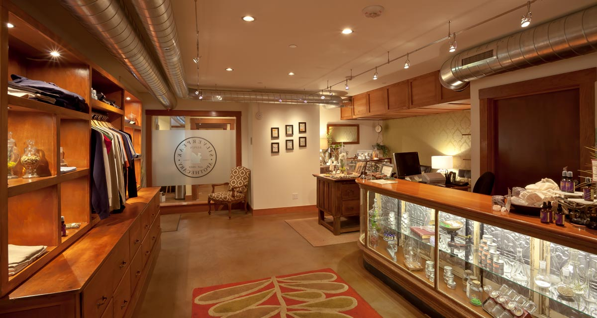 beautiful dispensary aspen Silverpeak Apothecary