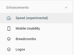 new-google-console-site-speed