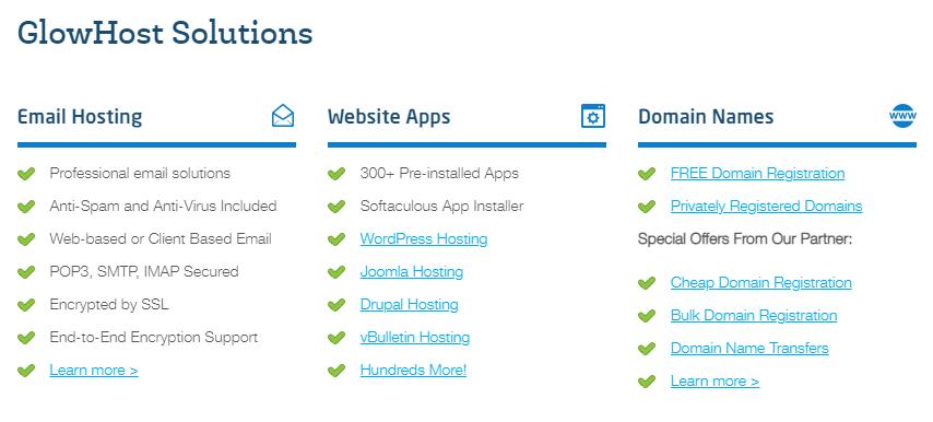 glowhost hosting