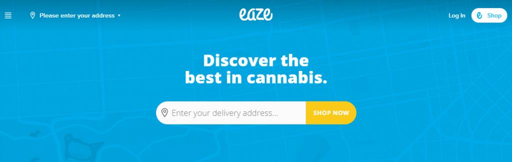 eaze marijuana delivery