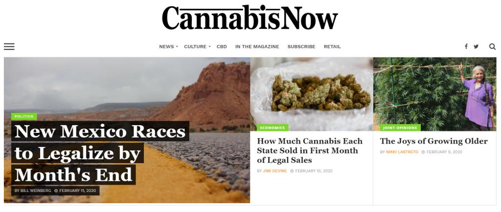 cannabisnow magazine