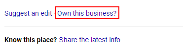 claim google my business