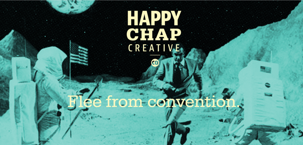 happy chap marijuana web design