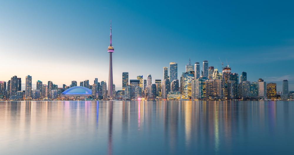 Toronto,City,Skyline,,Ontario,,Canada